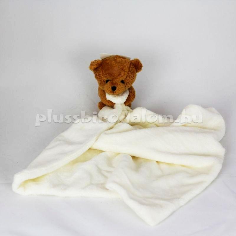 Plüss Maci alvókendő