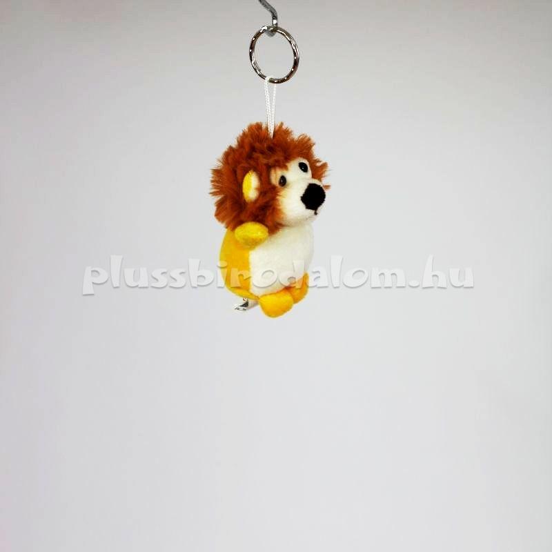 plüss oroszlán kulcstartó