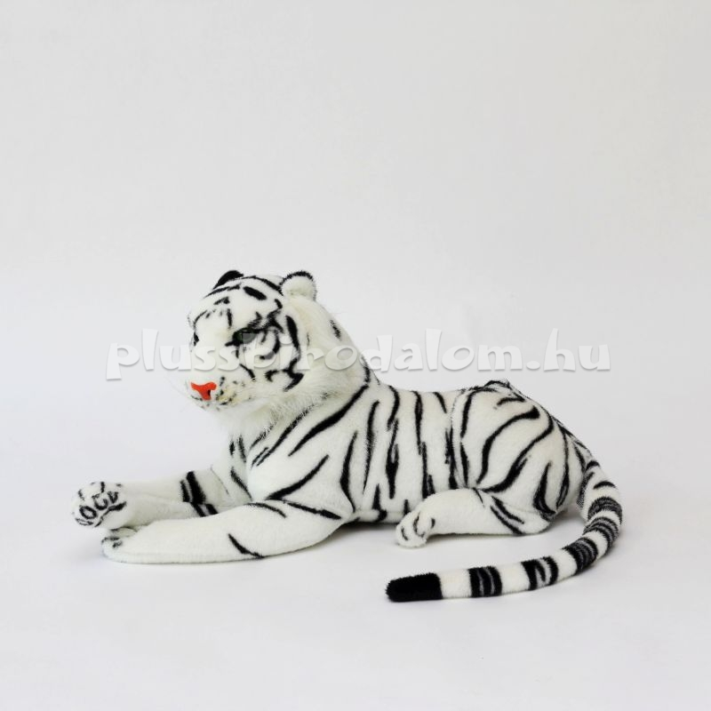 Plüss fehér Tigris 45 cm