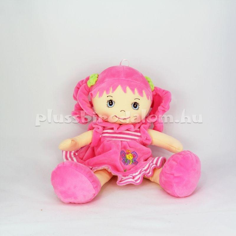 plüss baba rózsaszín