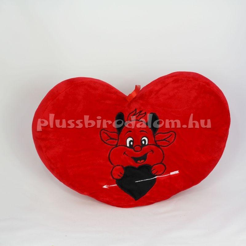 Plüss Ördögös Szív alakú párna plüss birodalom plüss figurák