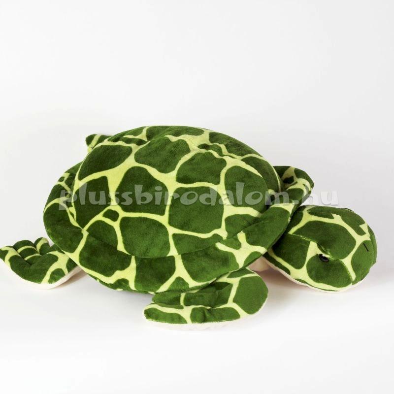 plüss teknősbéka, 30 cm