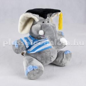plüss ballagó elefánt