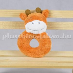 Plüss Bébi Csörgő - Zsiráf